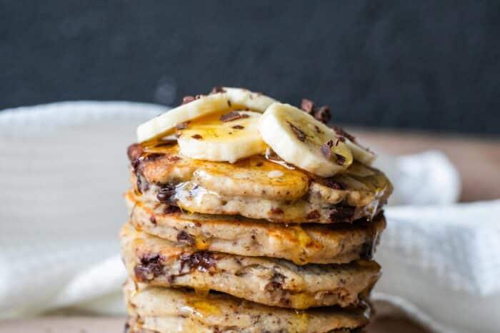 pancakes-bananes-chocolat
