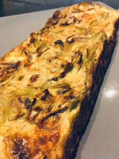 flan-poireaux-recette-sans-gluten-champignon-chevre
