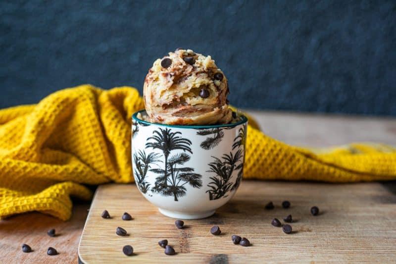 cookie dough sans gluten vegan
