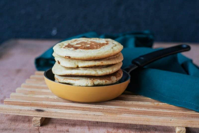 pancakes salés farine de pois chiche