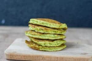 pancake-courgette